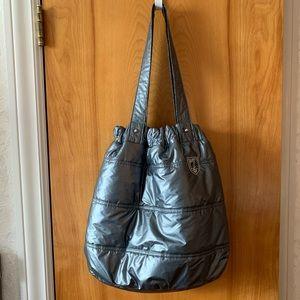 American Eagle puffer tote bag